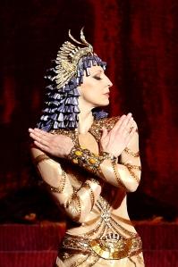 Ilze Liepa as Cleopatra - Ida Rubinstein